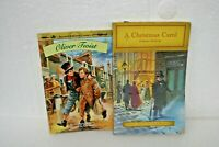 A Christmas Carol and Oliver Twist 2 books by Charles Dickens Paperback