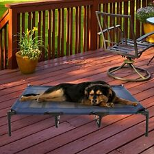 New listing Elevated Pet Bed-Portable Raised Cot-Style Bed W/ Non-Slip Feet 48�x 35.5�x 9.