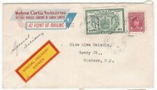 1946 14¢ Special Delivery (#E10) Cover Saint John, NB to Windsor, NS