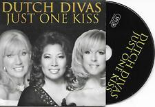 DUTCH DIVAS - Just one kiss CD SINGLE 2TR Cardsleeve 2005 Holland RARE!