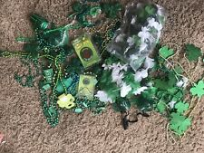 Huge Lot Of Beads Saint Pattys Day Party Wear bar items