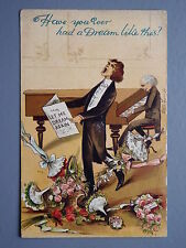 R&L Postcard: Birn Bros, Have You Ever had a Dream, Piano Player, Singer, Music