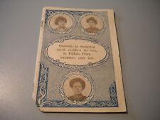 Booklet Vintage Advertising Pharmaceutical Pills Pink 1907