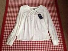 Tie Neck Marks and Spencer Semi Fitted Women's Tops & Shirts
