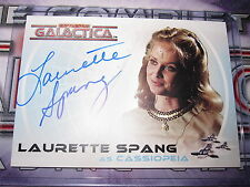 THE COMPLETE BATTLESTAR GALACTICA LAURETTE SPANG AS CASSIOPEIA A15 AUTO MINT