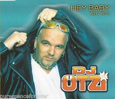 DJ OTZI - Hey Baby (Uhh, Ahh) (UK 3 Track CD Single)