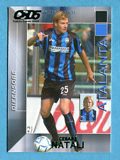 CALCIO CARDS 2005 Panini - Figurina/Sticker -n. 2 - NATALI - ATALANTA -New
