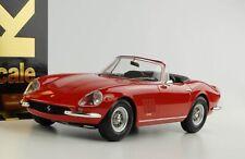 1:18 Ferrari 275 GTB 4 NART Spyder mit Softtop rot 1967 KK diecast
