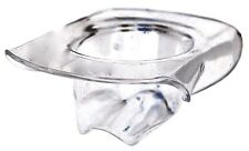 """Cowboy Hat Shaped Party Bowl / Ice Bucket, Acrylic, by Huang, 8¾"""""""