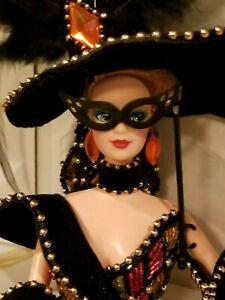 Vintage WoWwee.. Stunning displayed 1993 Bob Mackie Masquerade Ball Barbie Doll