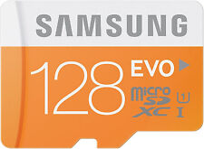 Samsung EVO 128GB microSDXC UHS-I Card with SD Adapter Class 10 *NEW*