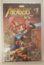AVENGERS VS #1 RARE BOOK, SIGNED BY TOM RANEY BAG, BOARD & TOPLOADER NM/M HTF