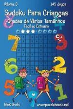 Sudoku para Crianças: Sudoku para Crianças Grades de Vários Tamanhos - Fácil...