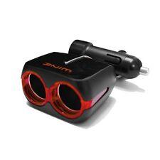 NEW Autoban Car Accessories Red Wine 1 USB 2way Car Socket Cigarette Lighter