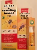 Rentokil Multi Surface Insect Killer & Spider & Crawling Insect Trap UK