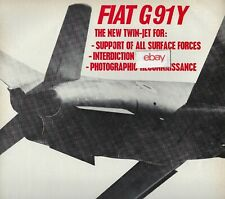 FIAT AVIATION DIVISION ITALIA G-91Y INTERDICTION-PHOTOGRAPHIC RECONNAISSANCE AD