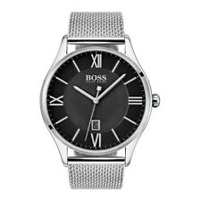 New Hugo Boss Men's Governor Stainless Steel Mesh Watch HB1513601