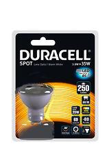 10 X DURACELL LED GU10 35W NOT HALOGEN BULBS DURACELL 50MM 240V QUALITY