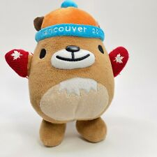 Official Vancouver 2010 Winter Olympics Mukmuk Plush 11' Mascot, Red Mittens
