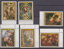 PP504 - NIGER STAMPS 1975 RELIGION/CHRISTMAS/EASTER/ART/PAINTINGS MNH