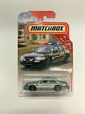 2019 Matchbox MBX Rescue '06 Ford Crown Victoria Police