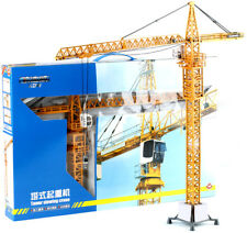 1 50 Scale Diecast Tower Slewing Crane Construction Vehicle Car Models Toy