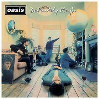 OASIS - DEFINITELY MAYBE (REMASTERED)  VINYL LP + DOWNLOAD NEU