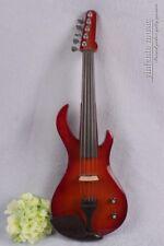 4/4 electric violin Guitar headstock big jack guitar shape Free Case Bow 4/4