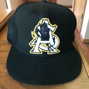 New Era Arizona State University baseball hat/cap black fitted 73/8
