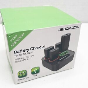 4 Rechargeable Batteries and Charger for XSS/XSX/X1 1200mAh Q115