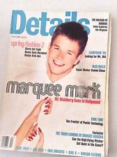 Details Magazine Marquee Mark Wahlberg Goes To Hollywood April 1996 013017RH