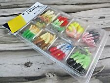 75 PIECE - CRAPPIE MAGIC TRI-COLOR TUBE KIT BY LUCK-E-STRIKE - CRAPPIE FISHING