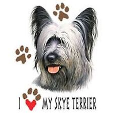 Skye Terrier Love T Shirt Pick Your Size 7 X Large to 14X Large