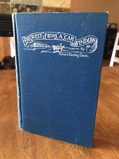 THE WEST FROM A CAR WINDOW Richard Harding Davis ILLUSTRATED F. Remington 1st Ed