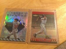 CHIPPER JONES 2000 Finest FOR THE RECORD  #FR10B Ser #d /401 & Lords of Diamond