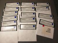 "Borland Cp++ Version 3.1 vintage 15 Floppies  5.25"" disks ASIS old WL"