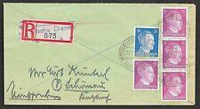 German Reich covers 1944 R-cover Deutsche Dienstpost Niederlande/AMERSFOORT