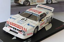 BMW M1 #61 ENNEQUIN GABRIEL GASPARETTI 24 HEURES DU MANS 1982 IXO ALTAYA 1/43