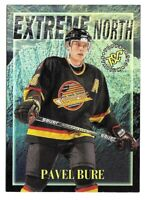 1996-97 Pavel Bure Topps Stadium Club Extreme North Insert - Vancouver Canucks