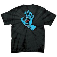 Santa Cruz SCREAMING HAND Skateboard T Shirt SPIDER BLACK XL