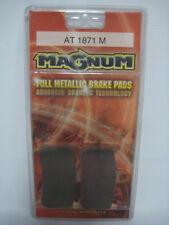 NEW MAGNUM FULL METALLIC BRAKE PADS DISC BRAKE 1988-2007 HONDA FA187HH AT1871M