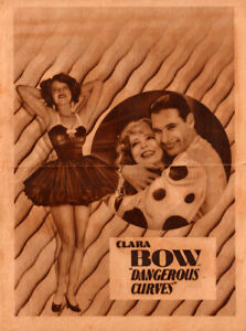 Dangerous Curves Original  Movie Herald from the 1929 movie