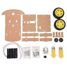 Newest Motor Smart Robot Car Speed Encoder Battery Box 2WD For Robot DIY Kit JKC