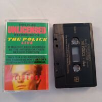 Cassette Tape The Unlicensed Recording of The Police Live Very Rare