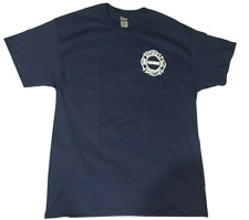 Chicago Fire Department Adult Navy Official T-shirt by CFD (X-Large)