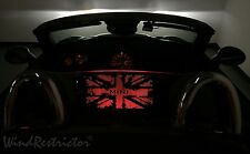 WindRestrictor Mini Cooper Roadster - Wind Deflector Windscreen Windschott RED