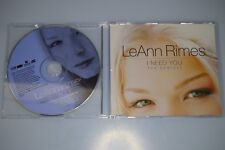 LeAnn Rimes ‎– I Need You (The Remixes) CD-Single