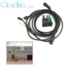 Neu AUX USB Schalter Stecker Kabel Kit Für RCD510 RNS510 Radio VW Golf PASSAT B6