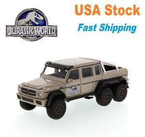 "Jurassic World Mercedes Benz G 63 AMG 6 x 6 SUV/Pick-up Truck, Jada, 9"", 1:24"