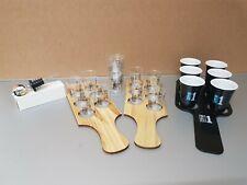WKD SHOT GLASS PADDLE SETS AND BOTTLE POURER NEW